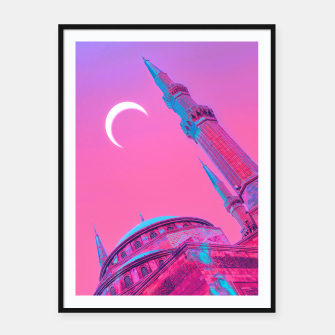 Day Moon Framed poster obraz miniatury