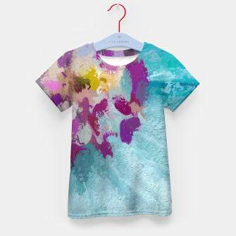 Miniature de image de Charming Blue Kid's t-shirt, Live Heroes