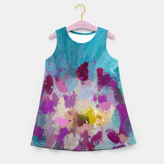 Miniature de image de Charming Blue Girl's summer dress, Live Heroes