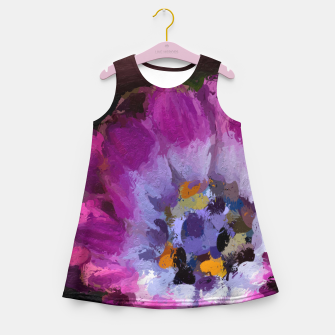 Miniature de image de Charming Violet Girl's summer dress, Live Heroes