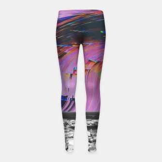 Thumbnail image of 093 Girl's leggings, Live Heroes