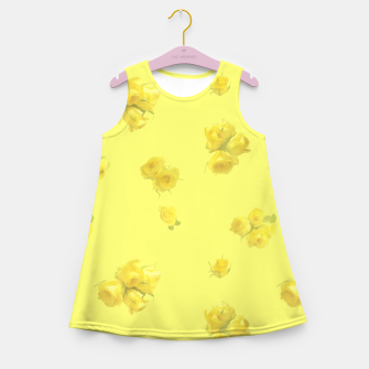 Thumbnail image of Soft Yellow Girl's summer dress, Live Heroes