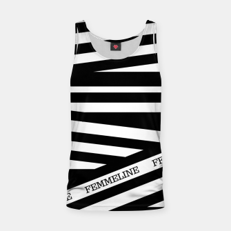 Miniatur The Stripes Tank Top, Live Heroes