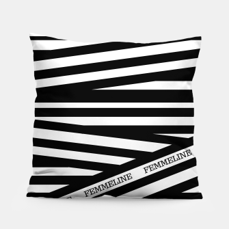Thumbnail image of The Stripes Pillow, Live Heroes