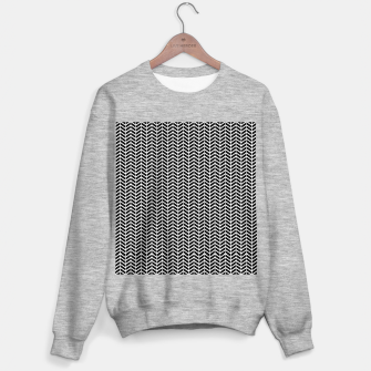 Thumbnail image of Arrows Black & White Sweater regular, Live Heroes