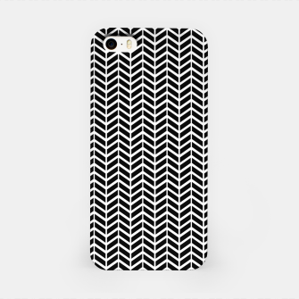 Thumbnail image of Arrows Black & White iPhone Case, Live Heroes