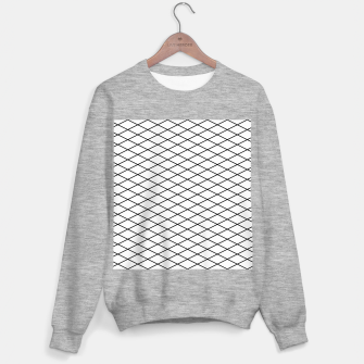 Thumbnail image of Lines Black & White Sweater regular, Live Heroes