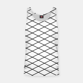 Thumbnail image of Lines Black & White Tank Top, Live Heroes