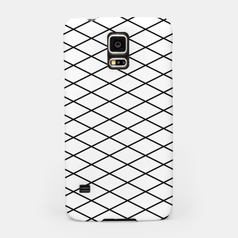 Thumbnail image of Lines Black & White Samsung Case, Live Heroes