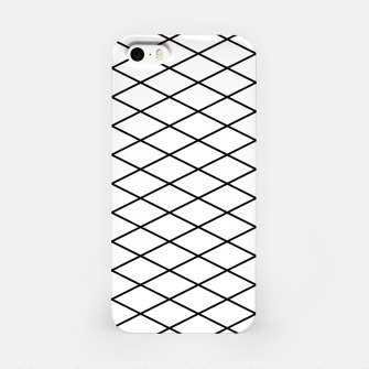 Thumbnail image of Lines Black & White iPhone Case, Live Heroes