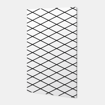 Thumbnail image of Lines Black & White Canvas, Live Heroes