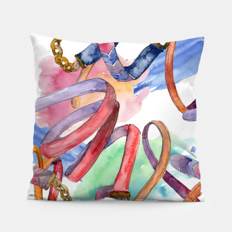 Thumbnail image of In Fashion  Pillow, Live Heroes