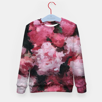 Miniature de image de Charming Pink Flowers Kid's sweater, Live Heroes