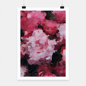 Thumbnail image of Charming Pink Flowers Poster, Live Heroes