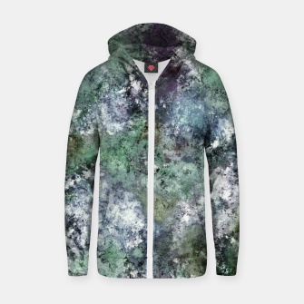 Thumbnail image of Walking through water Zip up hoodie, Live Heroes