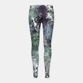 Thumbnail image of Walking through water Girl's leggings, Live Heroes