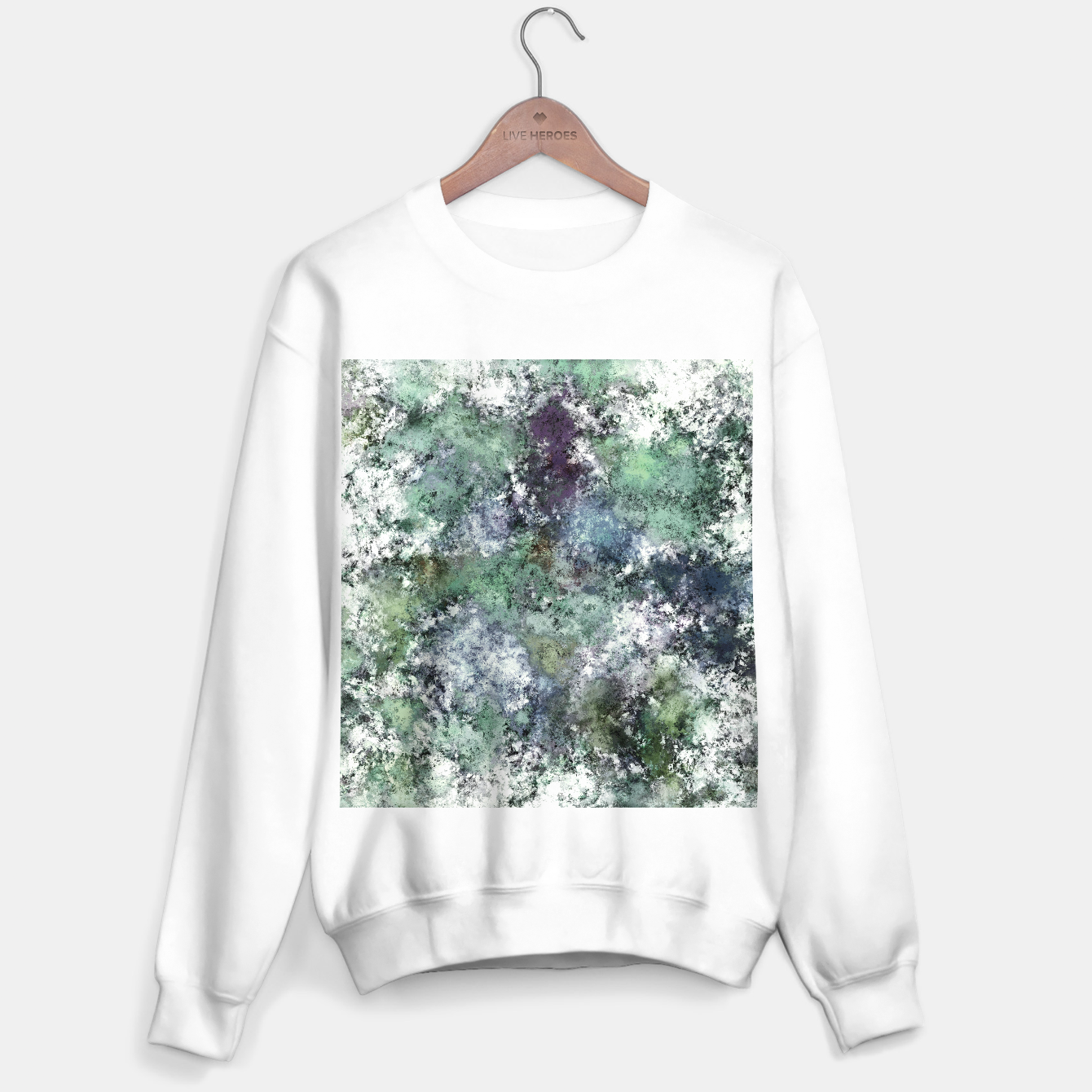 Image of Walking through water Sweater regular - Live Heroes