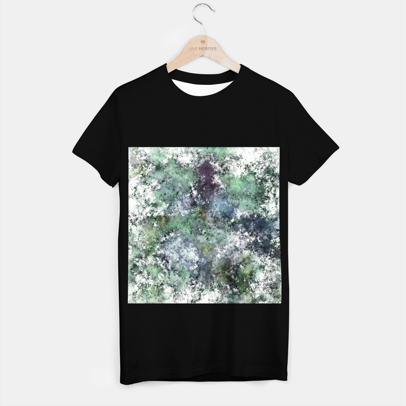 Image of Walking through water T-shirt regular - Live Heroes