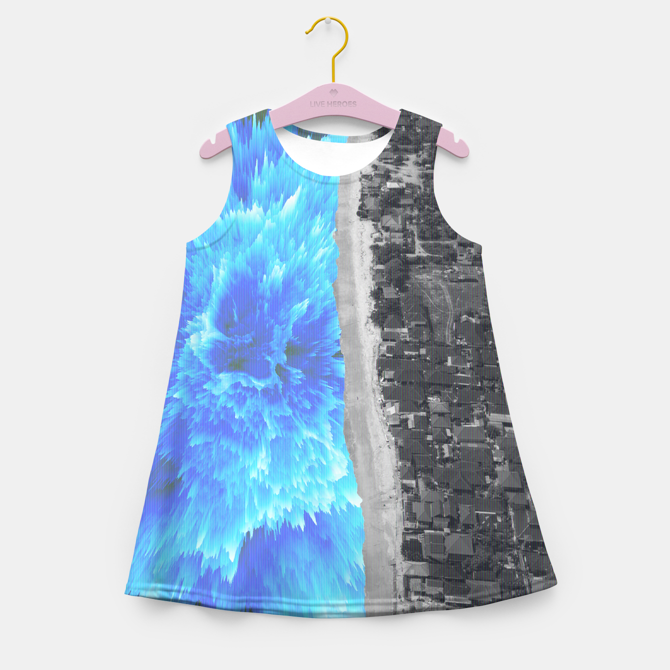 Image of 094 Girl's summer dress - Live Heroes