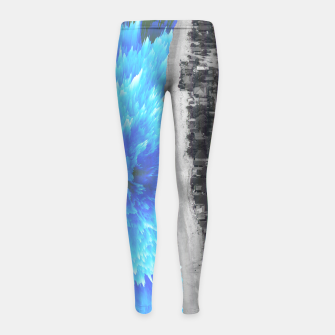 Thumbnail image of 094 Girl's leggings, Live Heroes