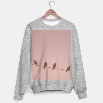 Birds on a wire Sweater regular thumbnail image