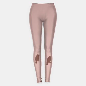 Birds on a wire Leggings thumbnail image