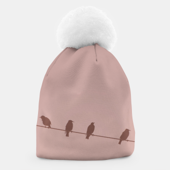Birds on a wire Beanie thumbnail image