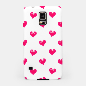 Thumbnail image of Love Concept Sketchy Drawing Print Pattern Samsung Case, Live Heroes