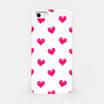 Thumbnail image of Love Concept Sketchy Drawing Print Pattern iPhone Case, Live Heroes