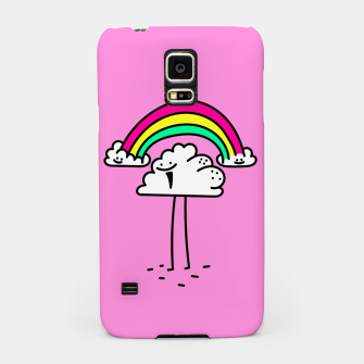 Thumbnail image of Rainbow cloud Samsung Case, Live Heroes