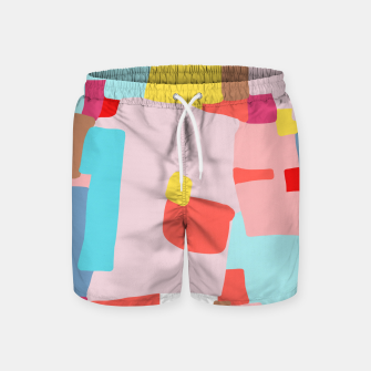 Thumbnail image of Windows of Possibility Swim Shorts, Live Heroes