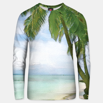 Watercolor Beach Unisex sweater thumbnail image