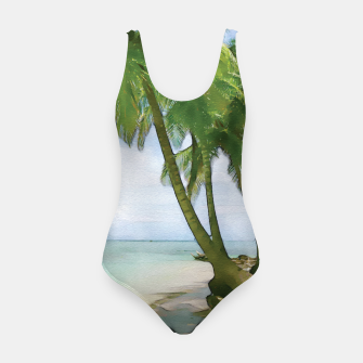 Miniatur Watercolor Beach Swimsuit, Live Heroes