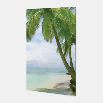 Miniatur Watercolor Beach Canvas, Live Heroes