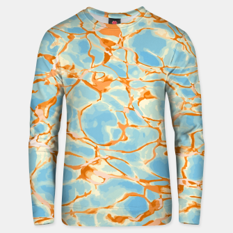 Abstract Water Unisex sweater obraz miniatury