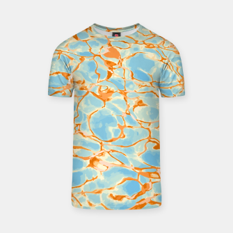 Abstract Water T-shirt Bild der Miniatur