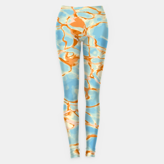 Abstract Water Leggings obraz miniatury