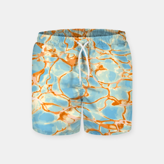 Miniatur Abstract Water Swim Shorts, Live Heroes