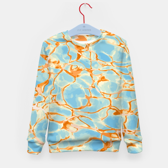 Abstract Water Kid's sweater Bild der Miniatur