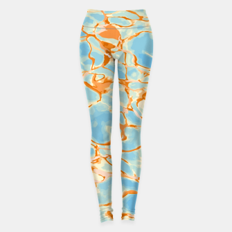 Abstract Water Leggings Bild der Miniatur