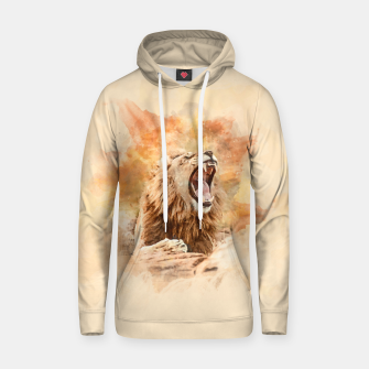 Thumbnail image of Lion Yawning Hoodie, Live Heroes