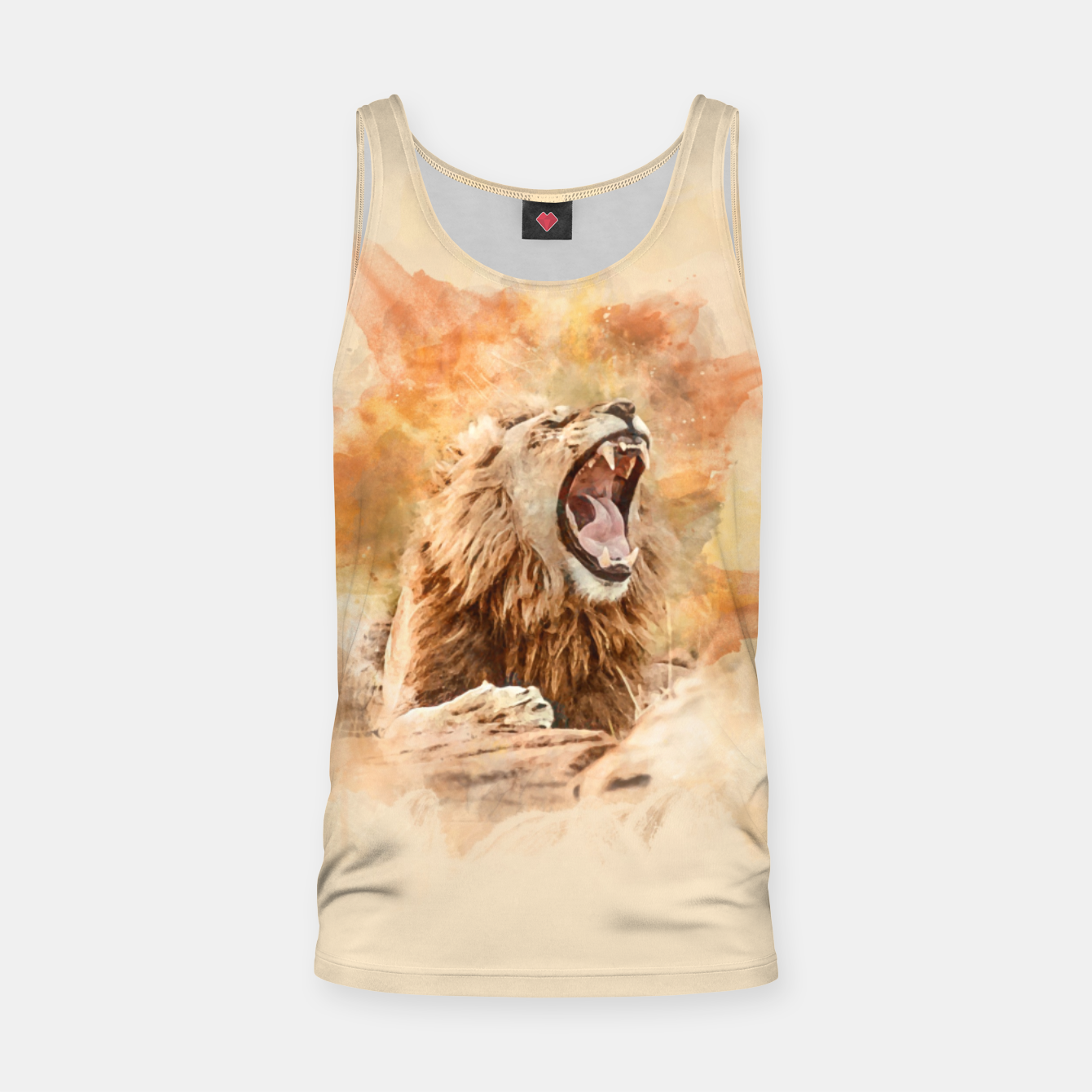 Image of Lion Yawning Tank Top - Live Heroes