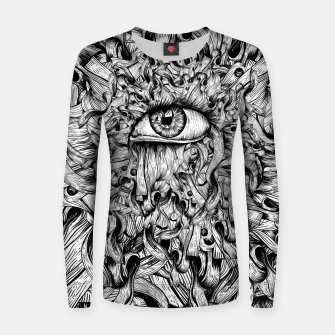 Inked Eye Women sweater Bild der Miniatur