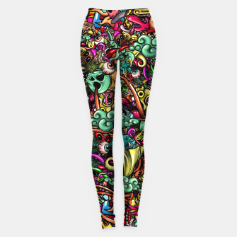 Thumbnail image of more Doodles Leggings, Live Heroes