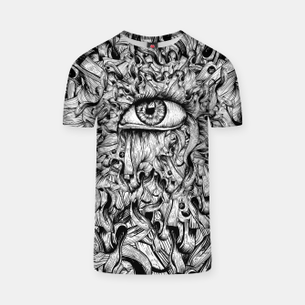 Thumbnail image of Inked Eye T-shirt, Live Heroes