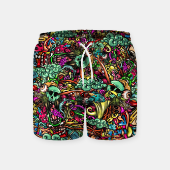 Thumbnail image of more Doodles Swim Shorts, Live Heroes