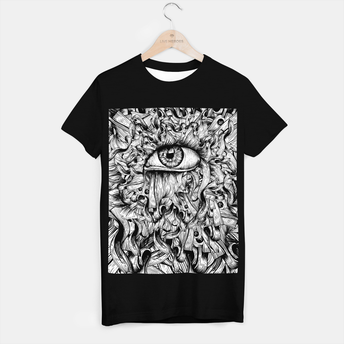 Foto Inked Eye T-shirt regular - Live Heroes