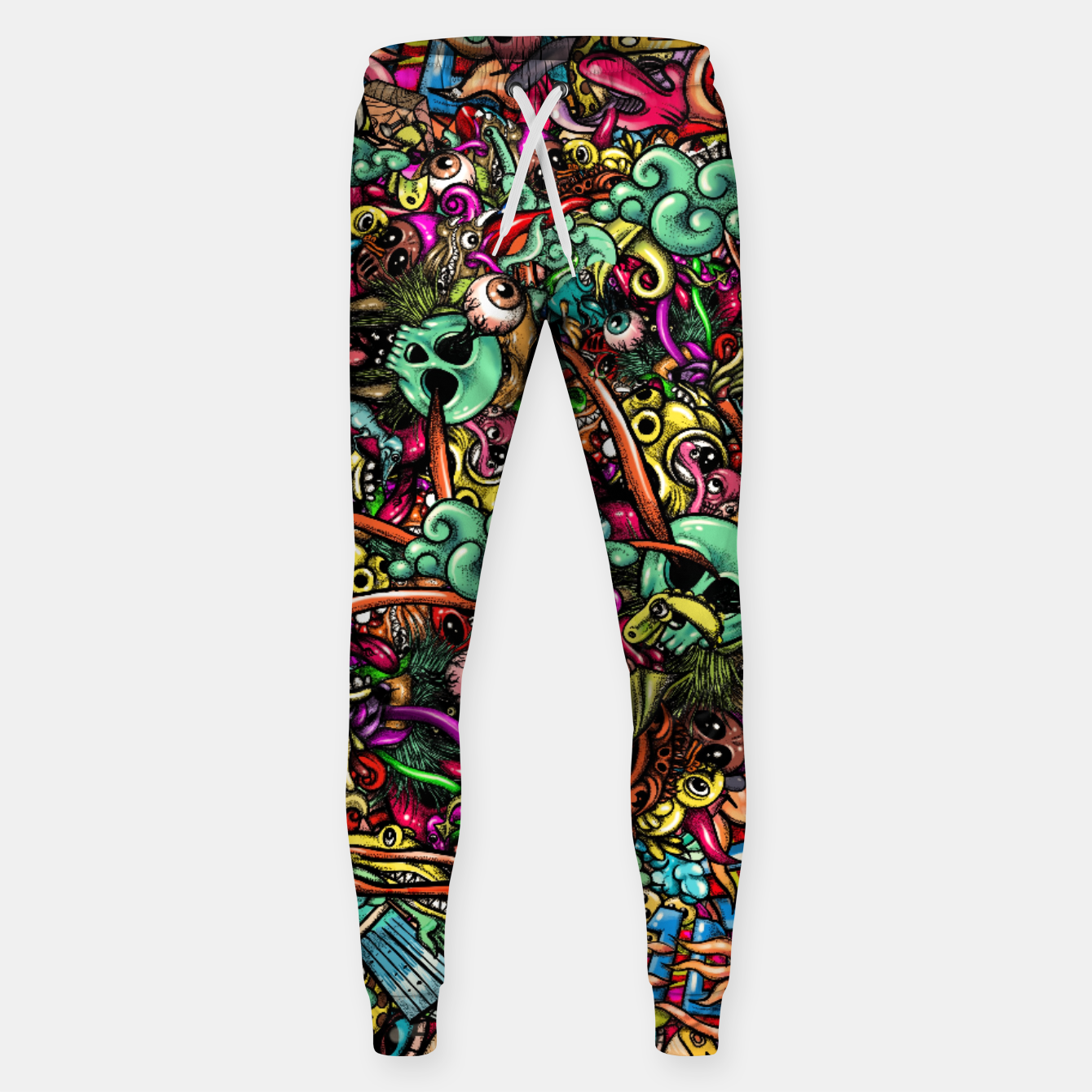 Image of more Doodles Sweatpants - Live Heroes