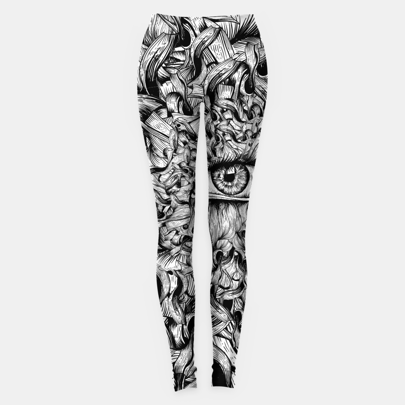 Foto Inked Eye Leggings - Live Heroes