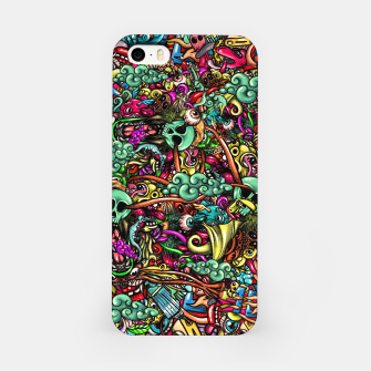 more Doodles iPhone Case Bild der Miniatur
